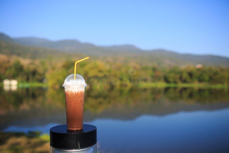 Download Kawa zamrażająca zdjęcie stock. Obraz złożonej z tło - 53783818