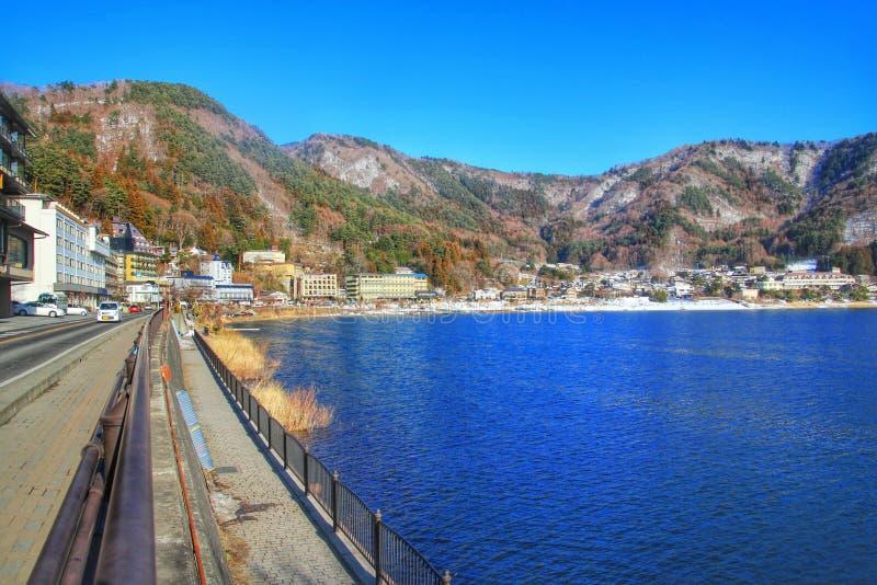 Kawacuchiko del lago, Giappone, Asia immagini stock libere da diritti