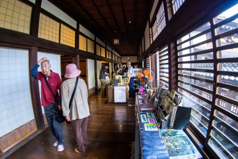 Kawagoe Castle Honmaru Goten Palace in East Janpan, Sep 2018.  stock image
