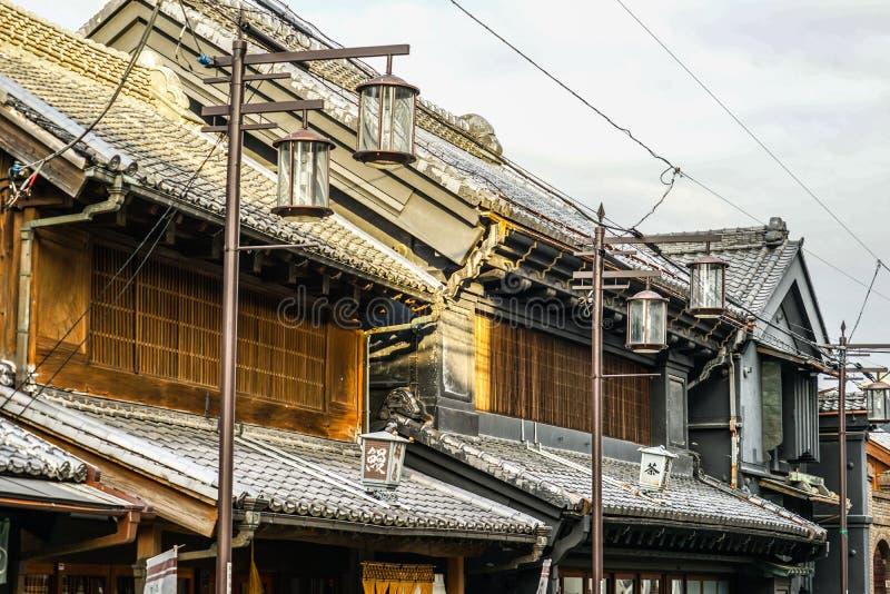 Kawagoe of streets and small Edo. Shooting location :  Saitama stock photography