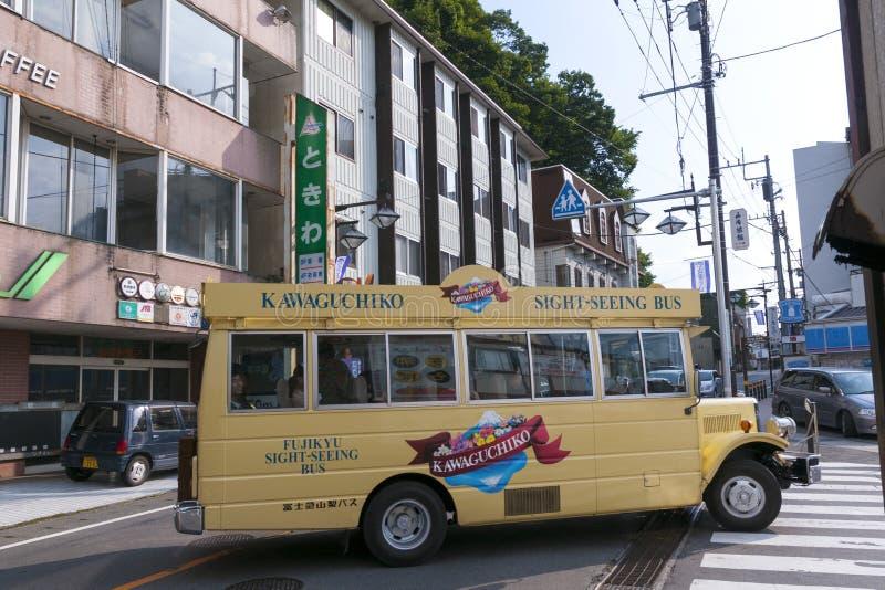 Download Kawaguchi Stadt redaktionelles stockfotografie. Bild von fuji - 26351382