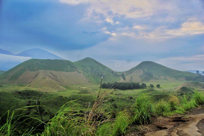 Kawah Wurung στοκ φωτογραφίες με δικαίωμα ελεύθερης χρήσης
