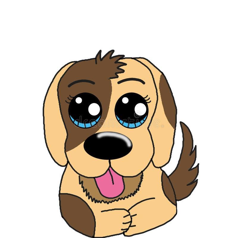 Kawai Cute Puppy Dog Clip Art Stock Illustration Illustration Of Kawaai Plastic 161082644