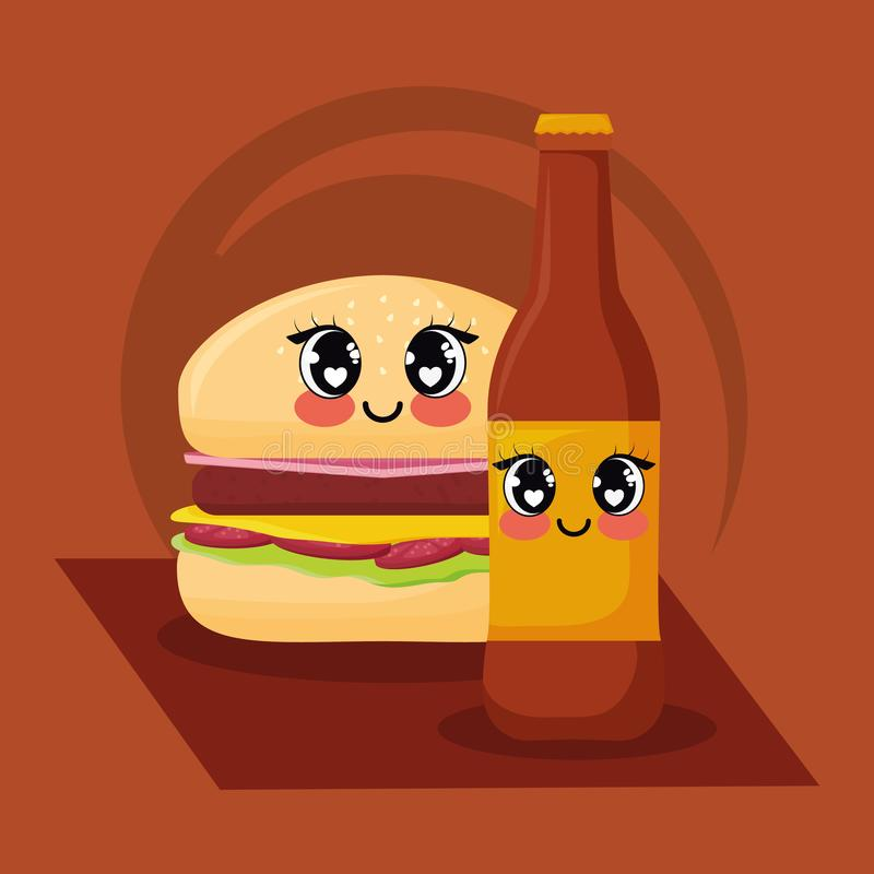 Kawaii Hamburger Stock Illustrations 409 Kawaii Hamburger Stock Illustrations Vectors Clipart Dreamstime