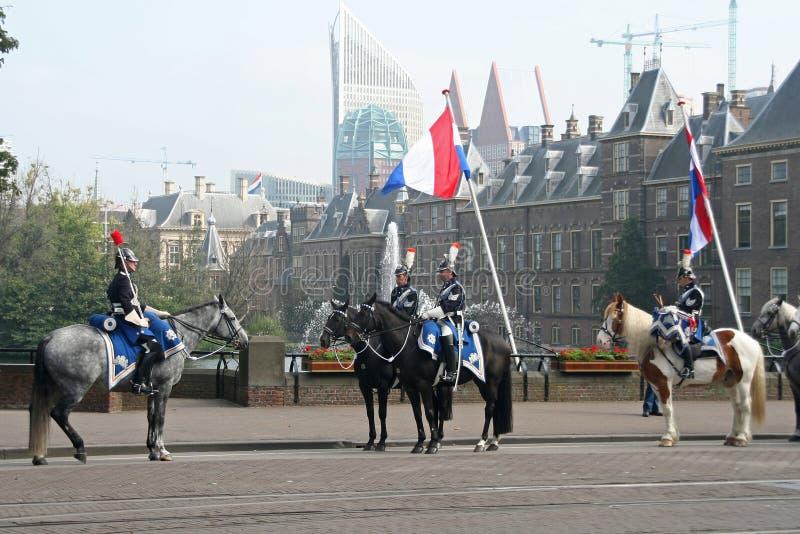 kawalerii prinsjesdag zdjęcia royalty free