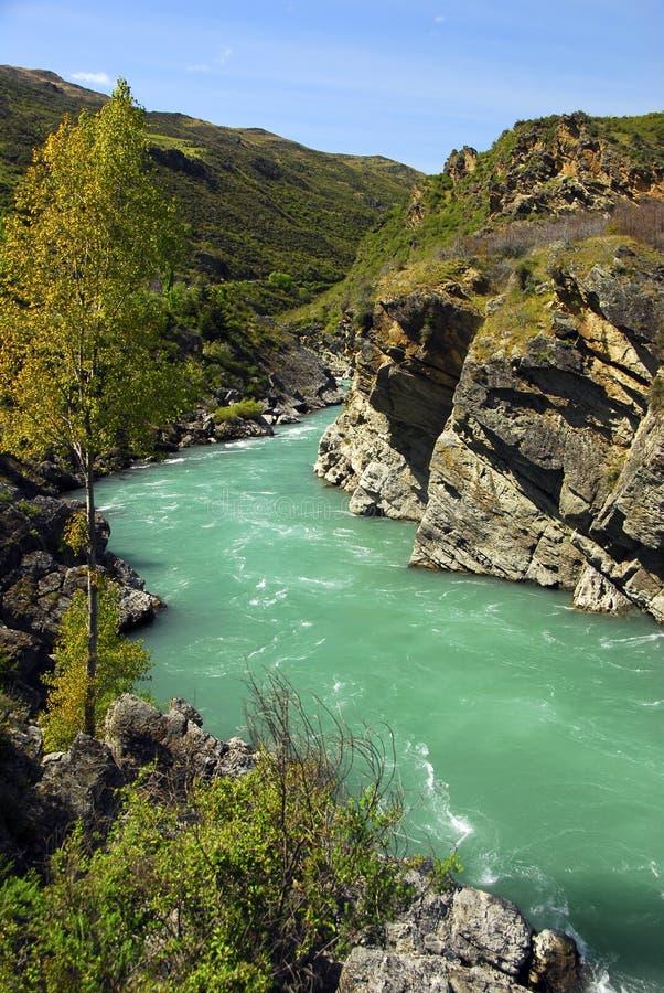 Kawarau River. Otago, South Island, New Zealand stock photos