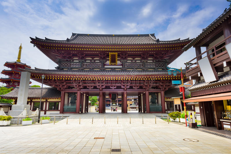 Kawasaki Daishi Shrine nel Giappone immagine stock
