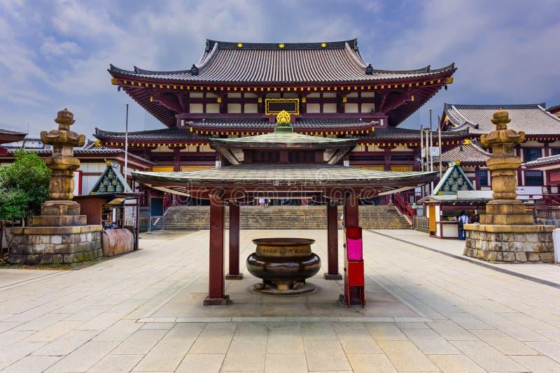Kawasaki Daishi tempel arkivbilder