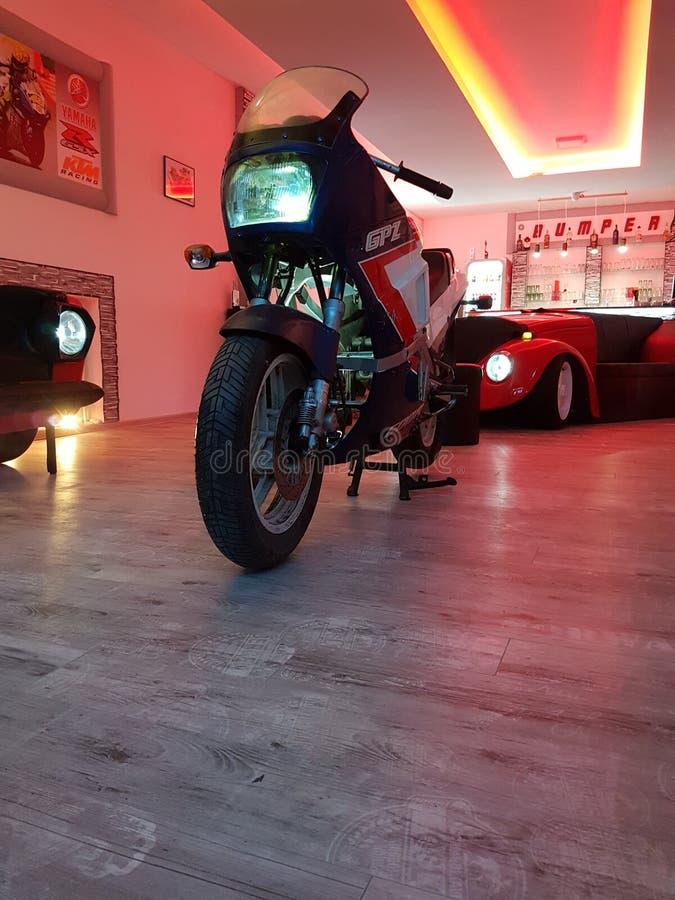 Kawasaki GPZ royaltyfri fotografi