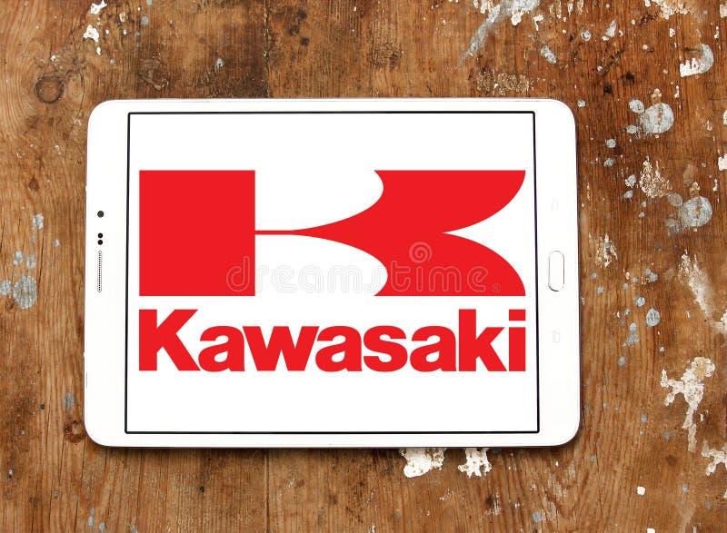 Download Kawasaki Motorradlogo Redaktionelles Stockfoto Bild Von