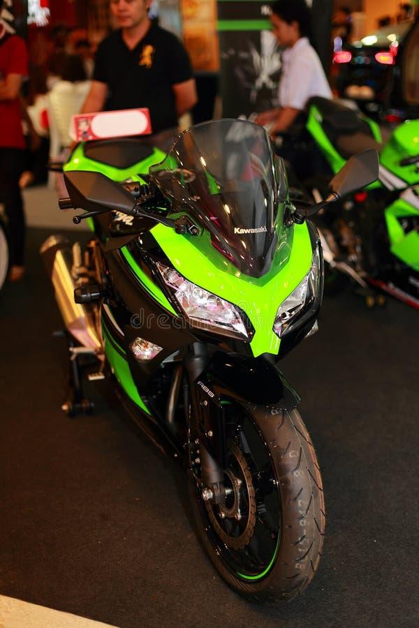 Kawasaki Ninja 300 royalty-vrije stock fotografie