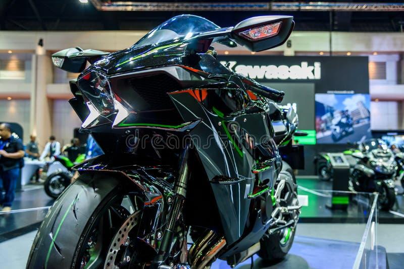 Kawasaki Ninja H2 στοκ εικόνα με δικαίωμα ελεύθερης χρήσης