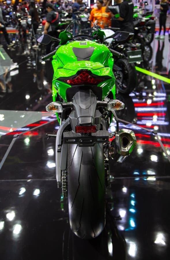 Kawasaki Ninja ZX10RR royaltyfria foton