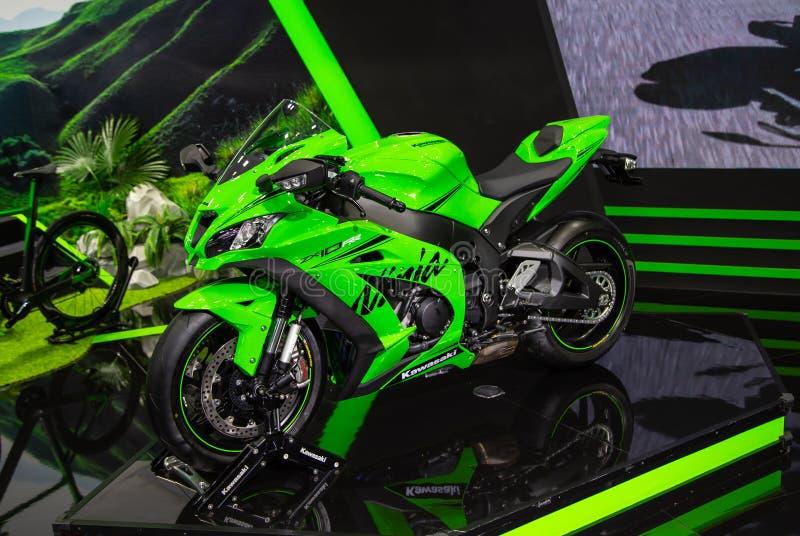 Kawasaki Ninja ZX10RR lizenzfreie stockfotos