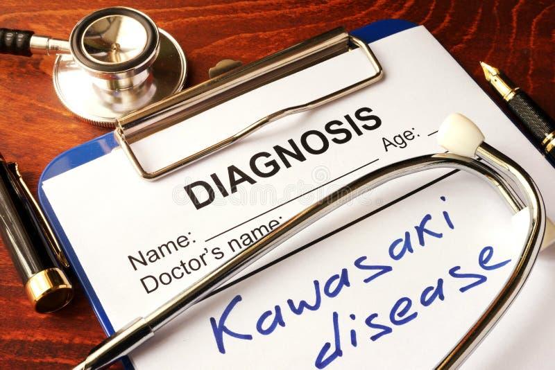 Kawasaki sjukdom royaltyfria bilder