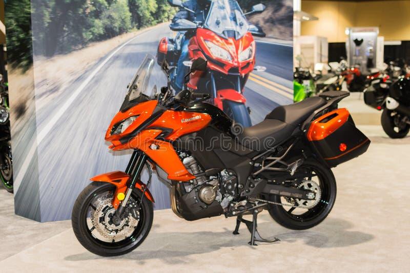 Kawasaki Versys 650 ABS 2015 στοκ εικόνες με δικαίωμα ελεύθερης χρήσης