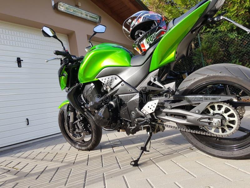 Kawasaki z750x στοκ εικόνες