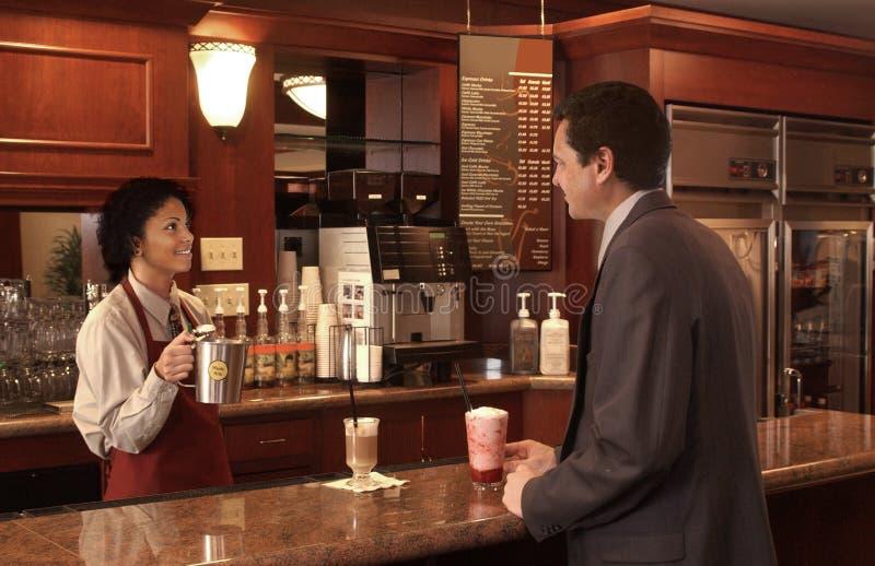 kawiarnia obraz royalty free