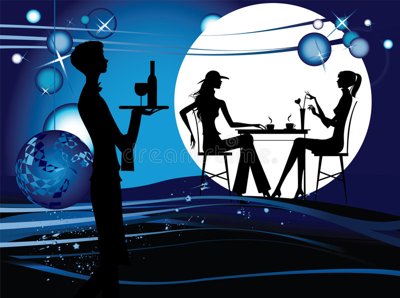 kawiarnia ilustracja wektor