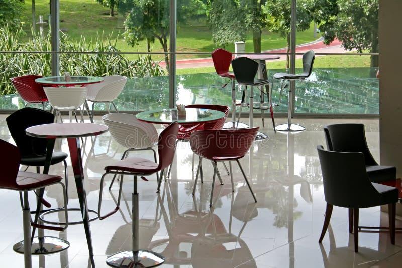 kawiarnia nowoczesnej zdjęcie stock
