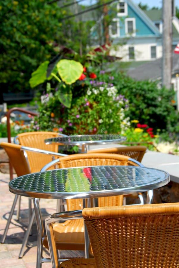 kawiarnia plenerowa zdjęcia royalty free