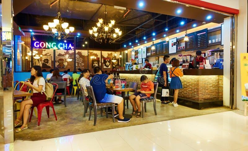Kawiarnia, restauracja w Chiny zdjęcia stock