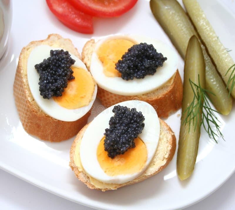 kawior jajka obrazy royalty free