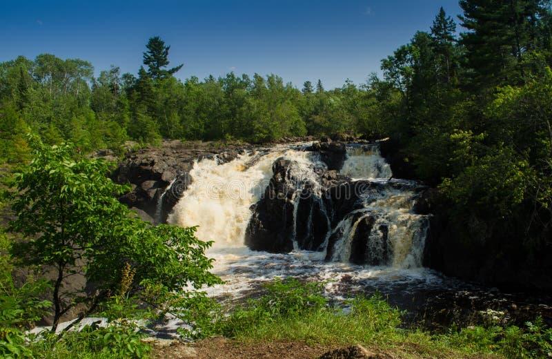 Kawishiwi Falls royalty free stock images