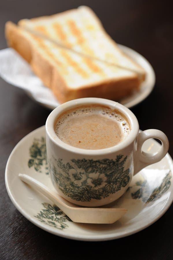 kawowa grzanka obraz stock