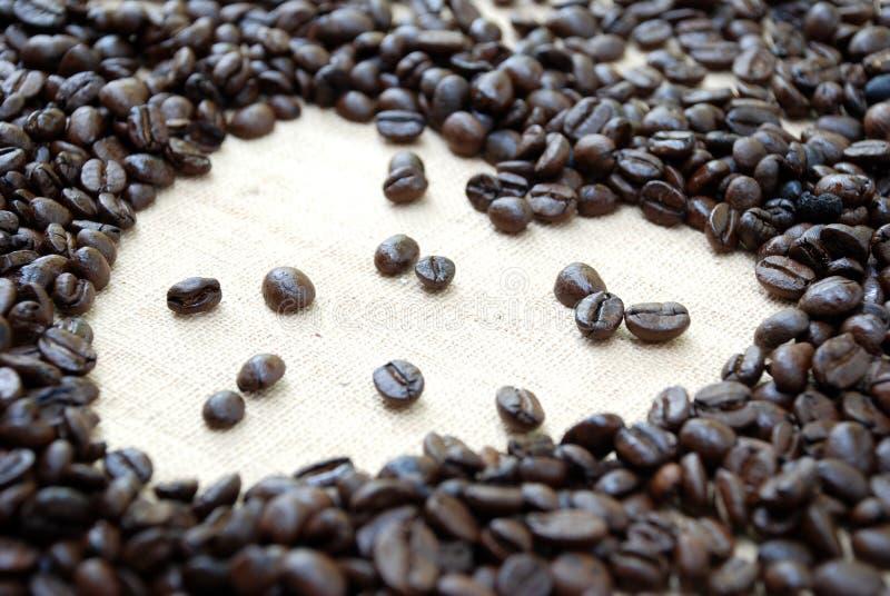 Kawowa miłość obraz royalty free