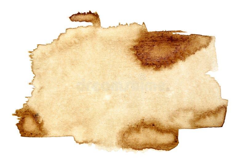 Kawowa plama ilustracja wektor