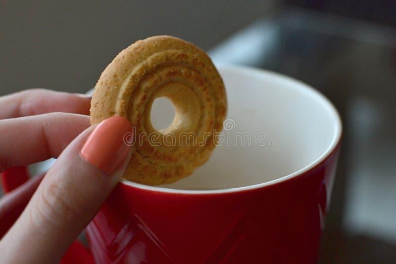 Kawowa przekąska obraz stock