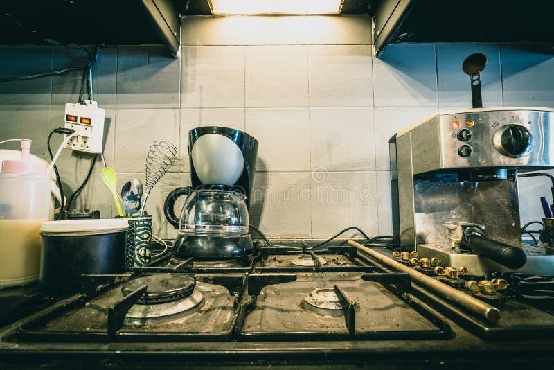 Kawowa strefa dla gotować zdjęcie stock