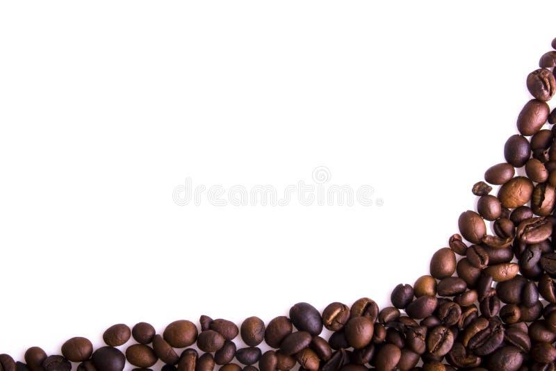 kawowe tło fasole obraz stock