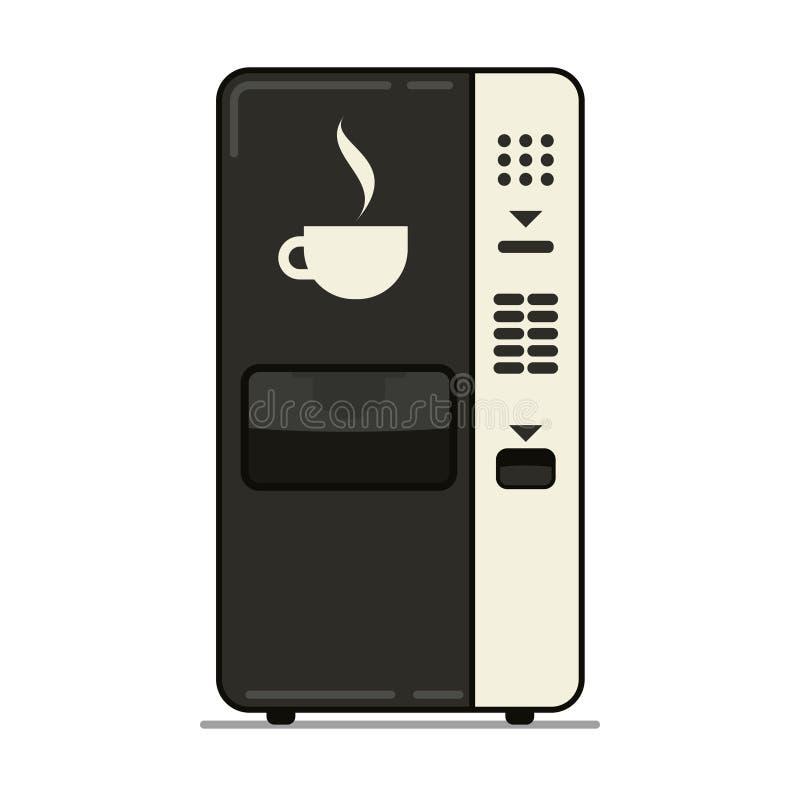Kawowego automata prosta ikona royalty ilustracja