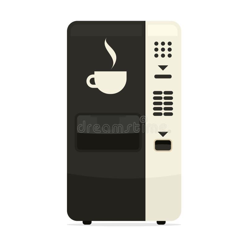 Kawowego automata prosta ikona ilustracji