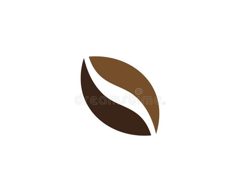 Kawowej fasoli ikony wektor ilustracji