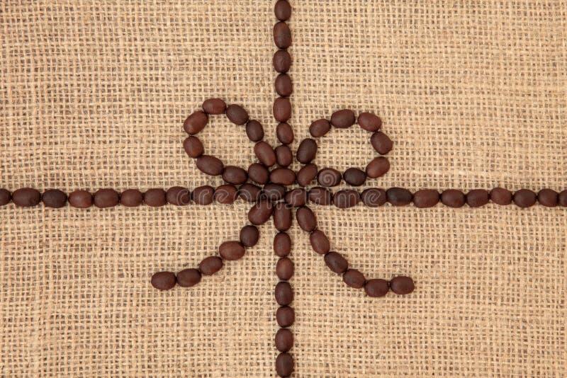Kawowej fasoli projekt obraz royalty free