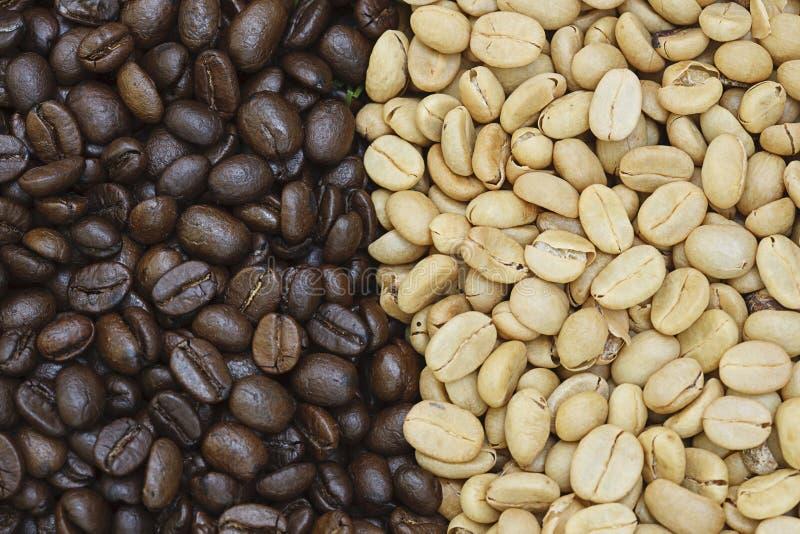 Kawowej fasoli tekstura fotografia stock