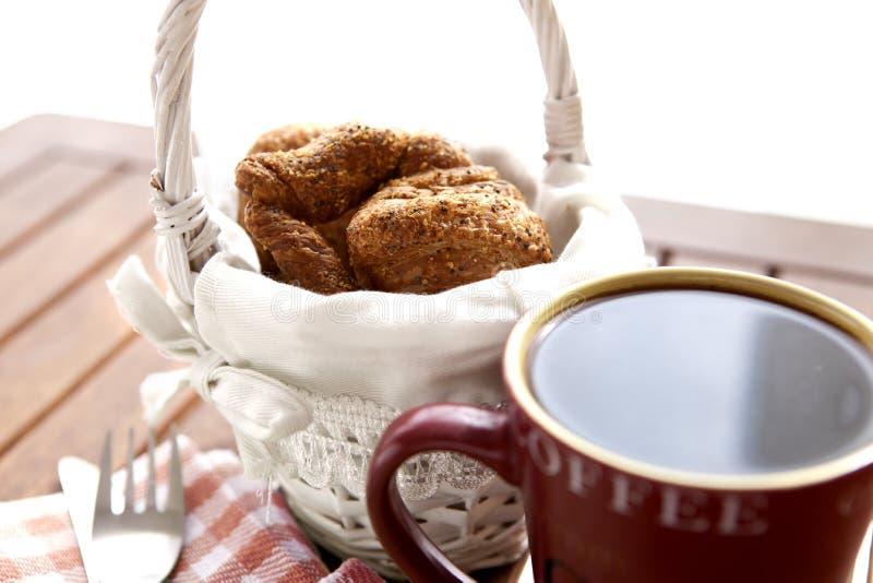 Kawowy śniadanie zdjęcie royalty free