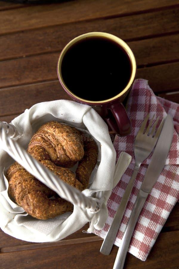 Kawowy śniadanie zdjęcie stock
