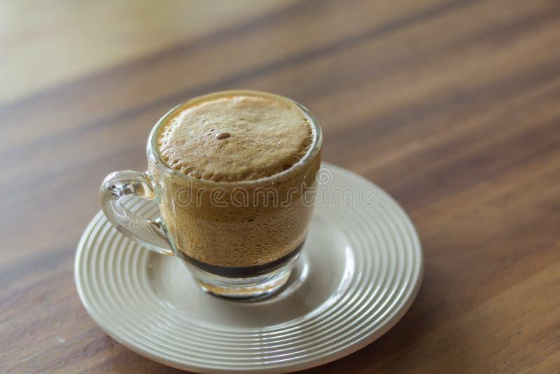 Kawowy bąbel obrazy royalty free