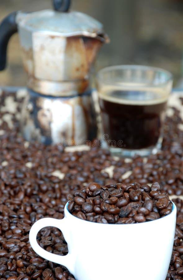 Kawowy kochanek fotografia stock