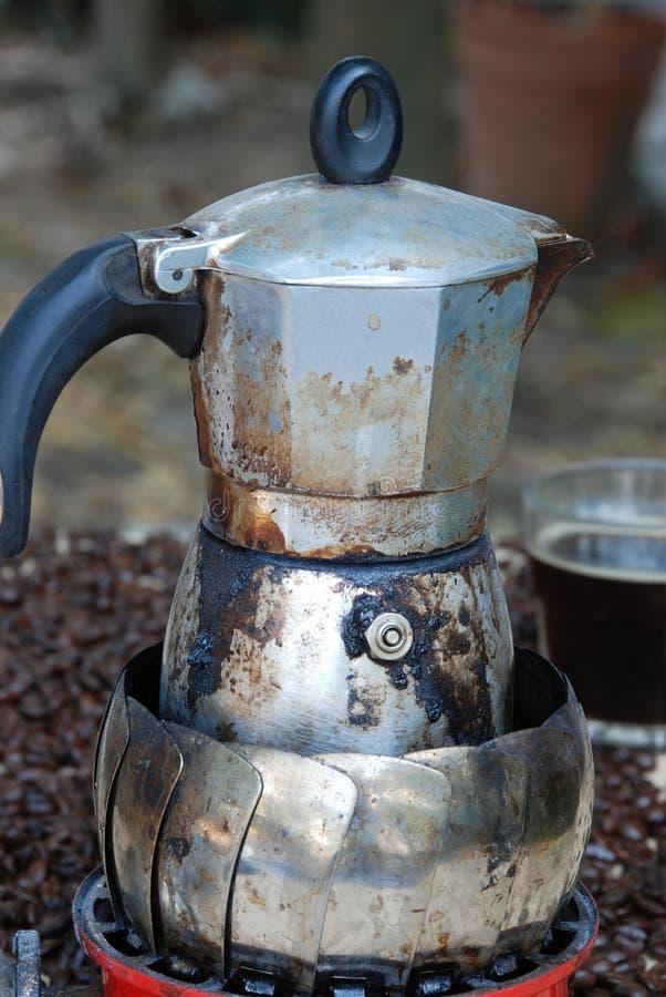 Kawowy kochanek obraz stock