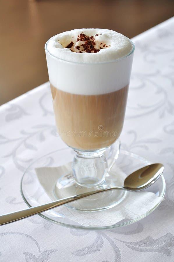 kawowy latte zdjęcie royalty free