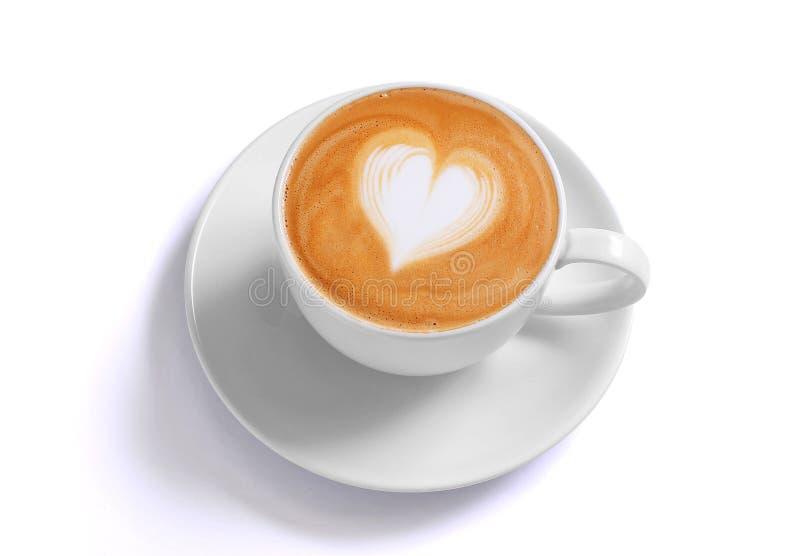 kawowy latte obrazy royalty free