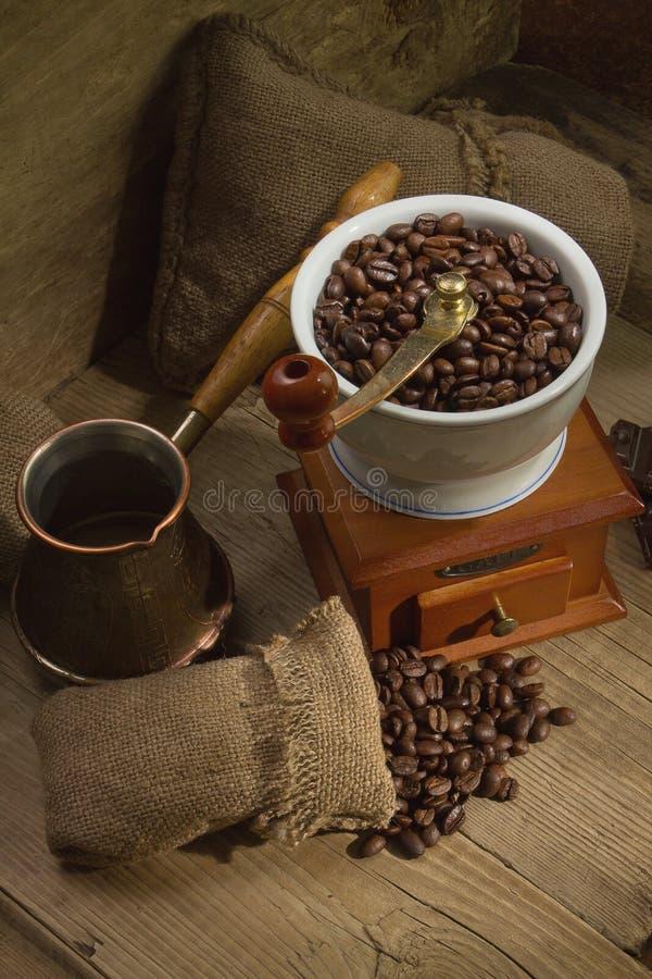 kawowy młyn zdjęcia royalty free