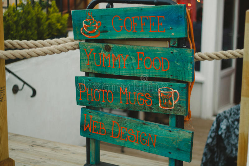 Kawowy miejsce zdjęcie royalty free