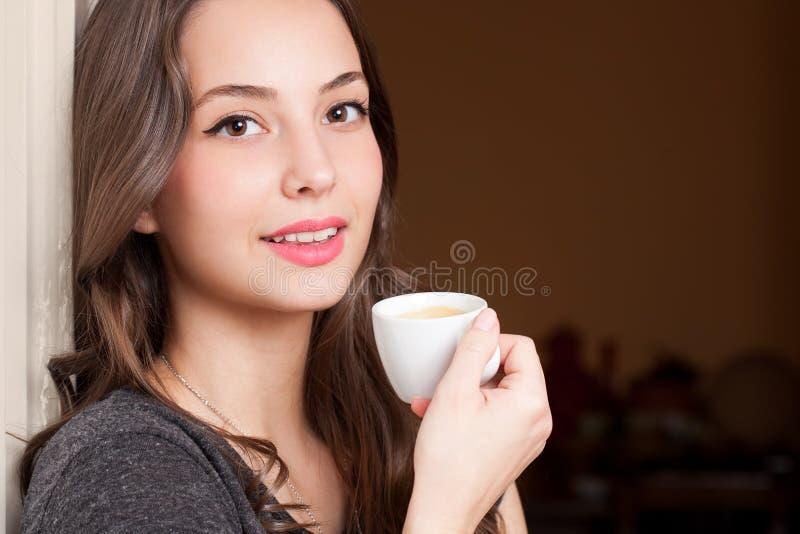 Kawowy piękno obraz royalty free