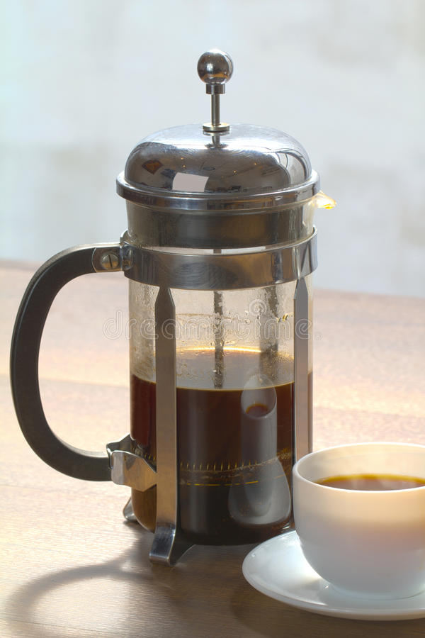 Kawowy piwowarstwo zdjęcia stock